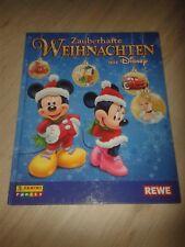 REWE Zauberhafte Weihnachten Sticker Heft mit allen Stickern, voll