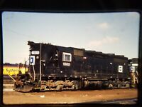 ZD05 TRAIN SLIDE Railroad Short Line EMD SD35 1565 Shoreham MN 1990