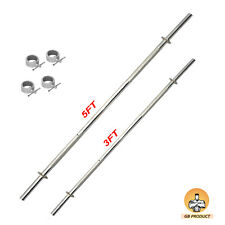 Gb WEIGHT LIFTING GYM ROD  ( 2 IN 1 )