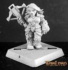 Reaper Miniatures 14143: Kara Foehunter, Dwarf Hero - Warlord Metal Miniatures