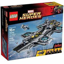 LEGO Super Heroes Avengers SHIELD Helicarrier 76042 W/Power Function Accessories