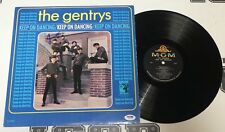 Jimmy Hart Signed The Gentrys Keep on Dancing Album Vinyl Record Psa/Dna '65 Wwe