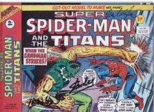 SUPER Spider-Man GB MARVEL 1977 comic- Stan Lee, LEN WEIN, Mike ESPOSITO