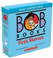 Bob Books First Stories, Paperback by Kertell, Lynn Maslen; Sullivan, Dana (I...