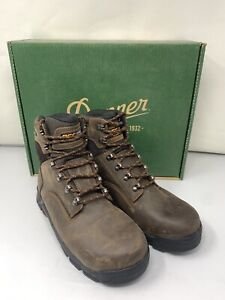 """Danner Men's Crafter Classic 6""""  Waterproof Lace Up Ankle Boots Brown 12435 8 D"""