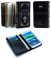 Holy Bible Retro Book Vintage Antique Classic Case Cover For Samsung Galaxy S5