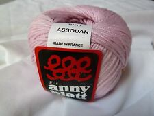Anny Blatt  Assouan # 504 Rose  DK/Lt Worsted 100% Mercerized Cotton