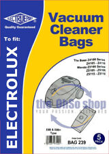 5x Dust Bags Vacuum Cleaner, Type: E66/E66N, Fits Tornado 4110, Tornado 5120