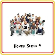 Homies Series 4 -  24 different figures,  great for 1:32 dioramas HTF ( loose )