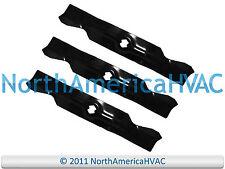 """1 Set of 3 Blades 50"""" Deck Cut Troy Bilt Mustang XP RZT-50 942-04053C"""