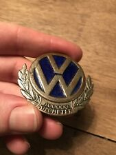 VW Käfer Brezel Ovali split bug Plaketten badge 100.000 Km 100000 50er HONOUR