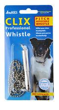 Clix Professional Dog Whistle Ergonomic Training Lanyard Loud Adjustable Pitch