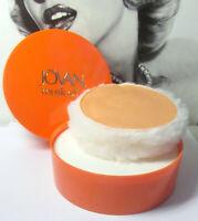 Vintage Jovan MUSK OIL Perfume Dustng Powder New Old Stock