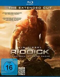 RIDDICK - THE EXTENDED CUT - VIN DIESEL - BLU-RAY - NEUW