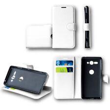 Per Huawei P Smart Plus / Nova 3i Tasca Portafogli Bianco Custodia Case Cover