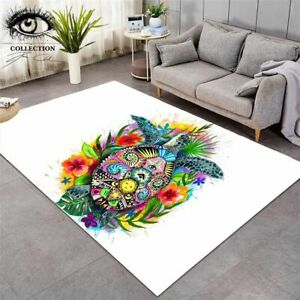 Turtle Life By Pixie Cold Art Carpets Large Area Rug For Living Room