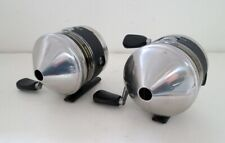 Two (2) Zebco 33 Spincast Reels - NICE!