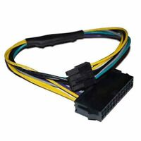 24Pin Female to DELL Optiplex Server Motherboard 8Pin Male Adapter Power CRGS