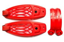 Ride Snowboard Bindings - Replacement Toe Strap Set & Sliders - Red - Large
