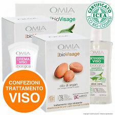 Trattamento Viso Omia Eco Bio 2 Cosmetici Crema e Latte Detergente a Scelta