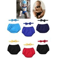 Baby Boys Bloomers Outfit Cake Smash Diaper Cover Shorts Bowtie 2pcs Set Casual