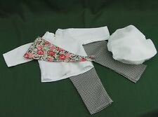 PARIS BAKING CHEF OUTFIT for American Girl DOLL GRACE THOMAS with HAT and SCARF