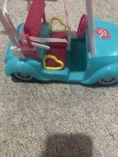 Mattel 2011 Barbie Golf Cart Retired
