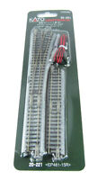 Kato 20-221 N Scale #4 Right Turnout with R481-15º EP481-15L