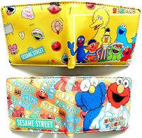 Sesame Street wallet purse id window zipped coin pocket card slot 2 styles