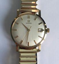 Vintage Men's 9 CT Gold Omega Mécanique Date Watch 1962