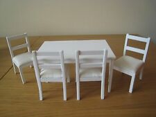 Dolls House Dining Table and 4 Chairs