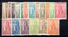 ANGOLA 192 233-251 * TEILSATZ 19 WERTE ohne A-Nummern (09806