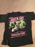 Green Day 99 Revolutions Concert Tour T-Shirt Size M 2013