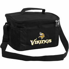 NFL Minnesota Vikings Lunch Bag - Insulated Box Tote - 6-Pack Cooler