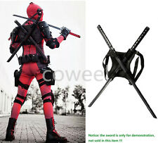Helloween Deadpool Costume Straps Harness Accessories Props for Swords Weapon