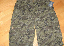 LUCKY BRAND Boys Size 18 Camo Cargo Shorts Army Green and Brown NWT