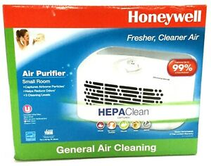 Honeywell HEPA-Type Air Purifier, 3 Levels, 75 sq ft Area HHT270WHDV1 White