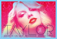 TAYLOR SWIFT - ED SHEERAN - 2013 - STAPLES CENTER - LOS ANGELES - REPUTATION