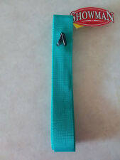 Teal Premium Nylon Off Side Billet Latigo for Western Saddle Girth Cinch