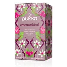 Pukka Organic Herbal 20 Tea Sachets Teabags - Womankind
