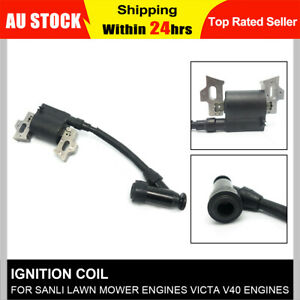 Brand New Fit For Victa V40 Ignition Coil Lawnmower Sanli Ignition Coil Starter