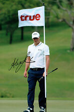Alexander Alex NOREN 12x8 Photo Signed Autograph European Tour Golf AFTAL COA