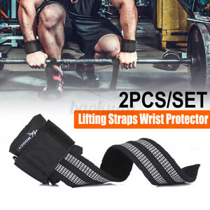 Gym Sport Workout Wrist age Weight Lifting Strap Hand Support Wristband  !!