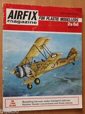 Airfix 1970 September JG33 F-104 Buchel,Fairey Battle,Hunter,Gnat