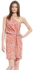 $385 Diane Von Furstenberg DVF Agatha One Shoulder Dress Size 2