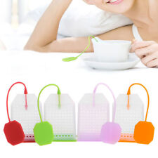 Creative Silicone Tea Bag Tea Infuser Leaf Strainer Herbal Spice Filter Diffuser