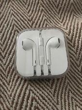 100% Genuine Apple Headphones Earphones Earpods 3.5mm Jack Mic  iPhone 6S 6 5S 5