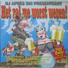 DJ APRES SKI PRESENTEERT - HET ZAL ME WORST WEZEN - CD
