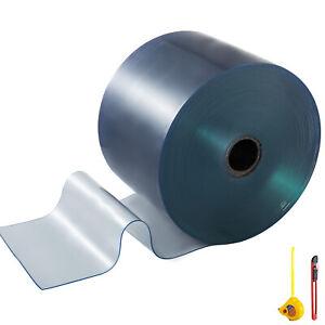 VEVOR PVC 25 Meter Streifenvorhang Rollenware Hallen Industrievorhang 300*3mm