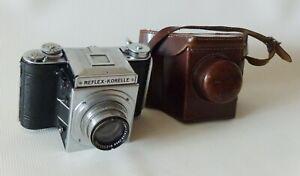 KOCHMANN REFLEX-KORELLE MODEL CHROM III SLR 6x6cm GERMAN CAMERA+Tessar 2.8/80